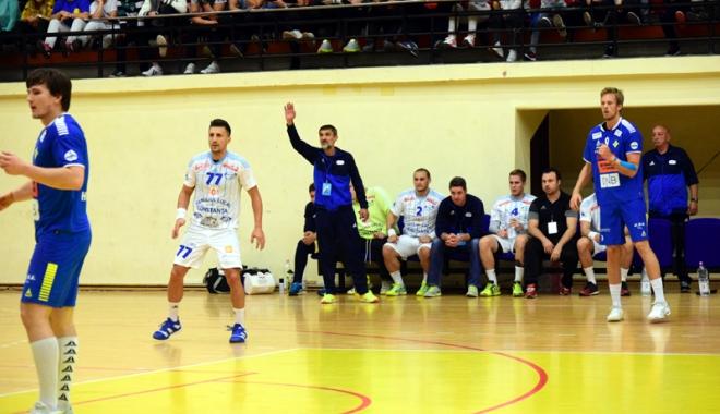Foto: Adversar infernal pentru HC Dobrogea Sud, în Cupa EHF