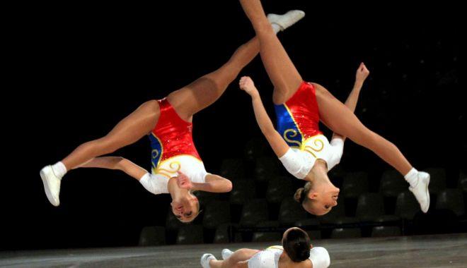 Foto: Conduşi de Simona Amânar! Aerobicii merg după medalii la Campionatele Europene