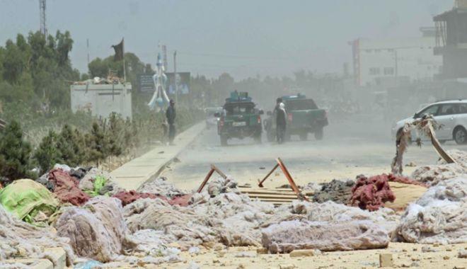 Foto: Afganistan: Explozie  în fața unui magazin soldată cu moartea unui copil