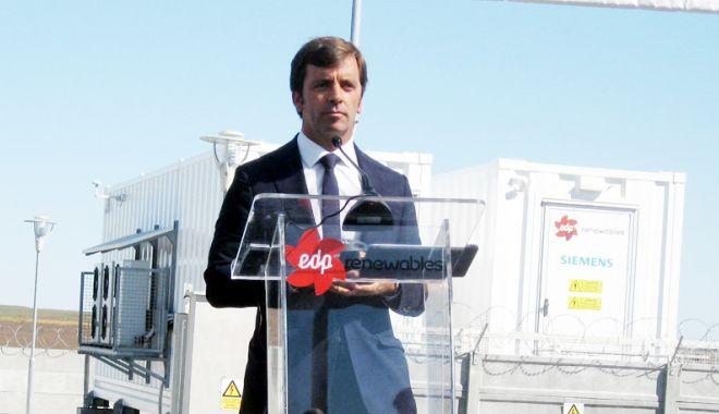 Foto: A fost inaugurată prima stație  de colectare a energiei regenerabile eoliene, din țara noastră