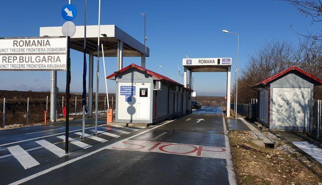 Foto: Astăzi a fost deschis punctul de trecere a frontierei Dobromir – Krushari, la graniţa cu Bulgaria