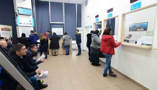 Foto: Agenţia fiscală din Palazu Mare, închisă definitiv