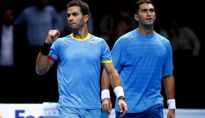 Foto: Horia Tecău şi Jean Julien Rojer s-au calificat în sferturile de finală la Madrid Open