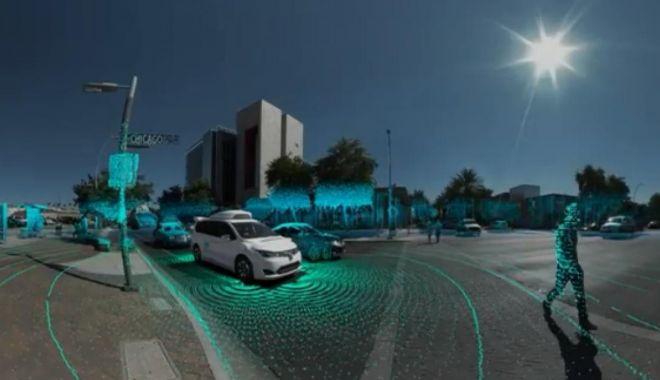 Foto: Se prefigurează o nouă tehnologie pentru mașinile autonome, bazată pe laser