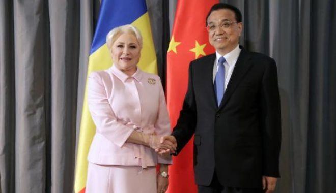 Foto: Viorica Dăncilă s-a întâlnit cu premierul Chinei. Au discutat despre parteneriatele public-privat