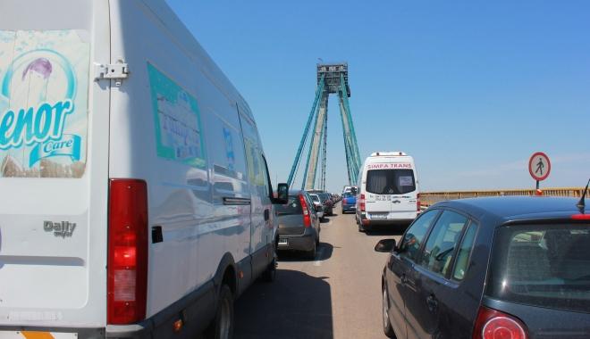 Foto: ATENŢIE, ŞOFERI! Trafic restricţionat pe Podul Agigea, începând de mâine