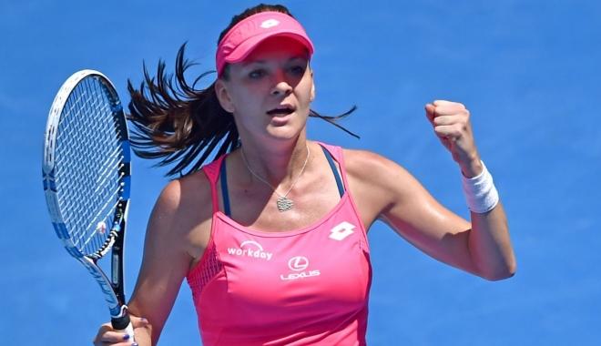 Foto: TENIS / Agnieszka Radwanska a pierdut în sferturi la Shenzhen (WTA)