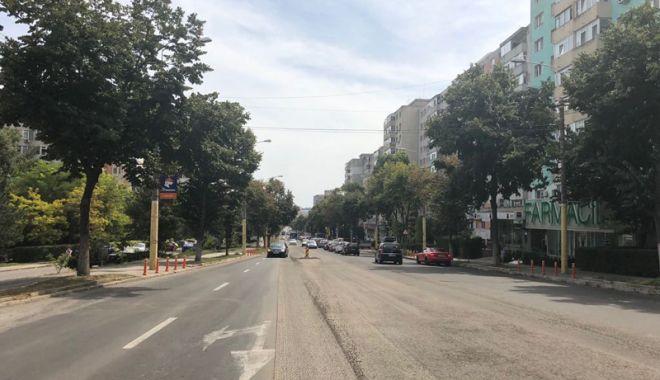 Foto: A început asfaltarea bulevardului Tomis