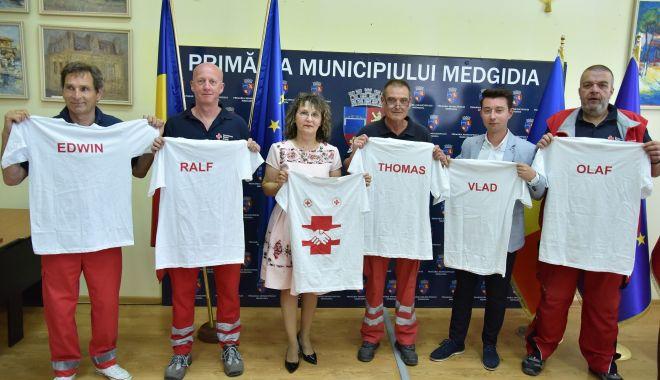 Foto: Ajutoare din Germania pentru Spitalul Municipal Medgidia