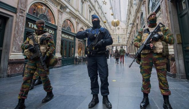 Foto: BELGIA, ÎN ALERTĂ! Gara Centrală, evacuată din nou