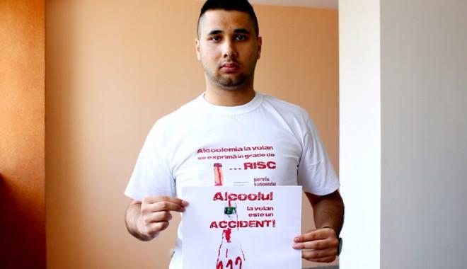 "Foto: Campania de prevenire ""Alcoolul la volan  este un accident!"""