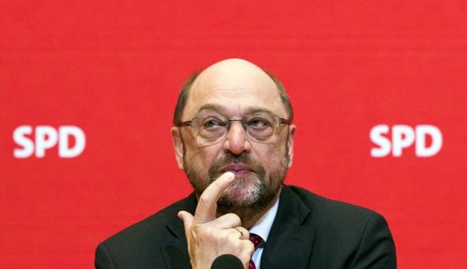 Foto: Alegeri regionale în Germania.  Martin Schulz îşi asumă înfrângerea!