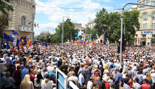 Foto: Alegeri invalidate la Primăria Chişinău. Reacţiile Ambasadei SUA şi ale Delegaţiei UE