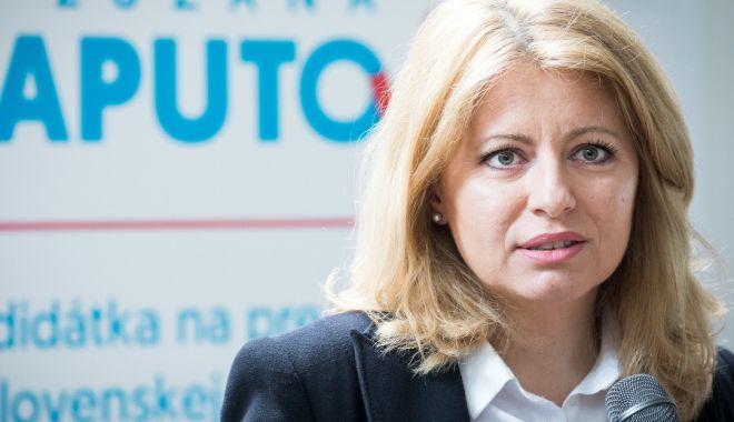 Foto: Alegeri în Slovacia. Zuzana Caputova a câştigat primul tur