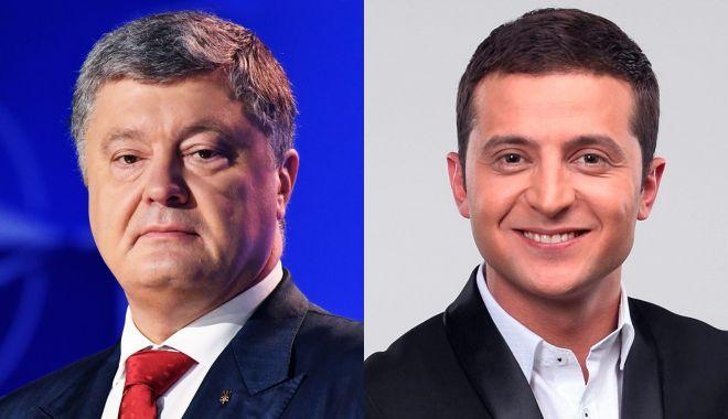 """Foto: Alegeri în Ucraina. """"Pe 21 aprilie, opţiunile sunt: Europa sau Rusia"""""""
