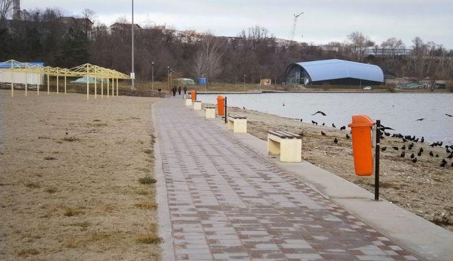 Foto: ALERTĂ în Dobrogea! Plajă şi lac nerecomandate pentru îmbăiere