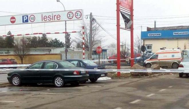 Foto: Alertă cu bombă  în parcare la Kaufland!