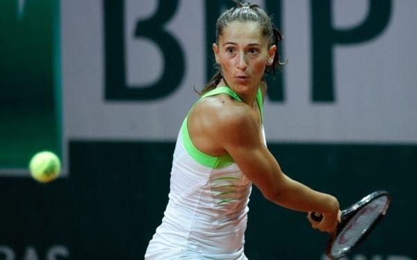 Foto: Tenis: Alexandra Cadanțu a abandonat în finala turneului WTA de la Bol