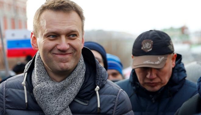 Foto: Principalul opozant rus,  Alexei Navalnîi, eliberat din închisoare