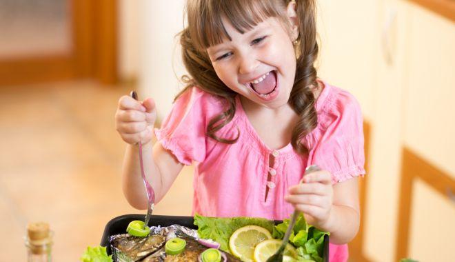 Foto: Introduceţi peştele în alimentaţia copiilor!