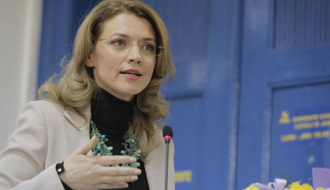 Foto: Alina Gorghiu: Avem un președinte de partid care oricând ar putea prelua portofoliul de prim-ministru