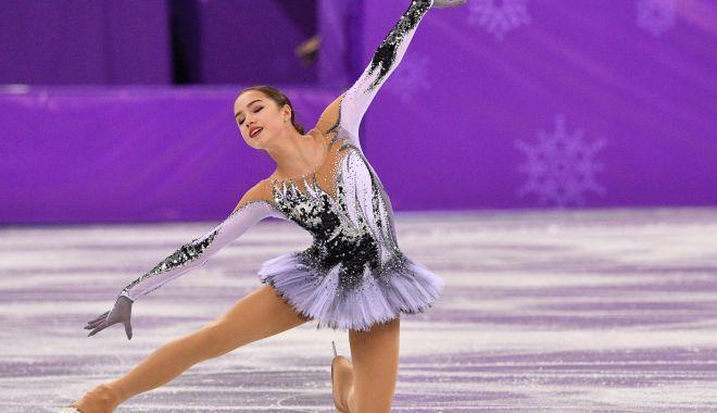 Foto: Alina Zaghitova, senzaţia Jocurilor Olimpice de iarnă, de la PyeongChang