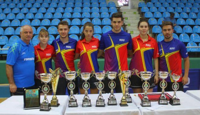 Foto: Alina Zaharia, patru medalii la Campionatele Balcanice U21