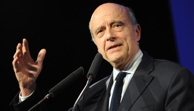 """Foto: Alain Juppé: """"Nu voi candida  la preşedinţia Franţei"""""""