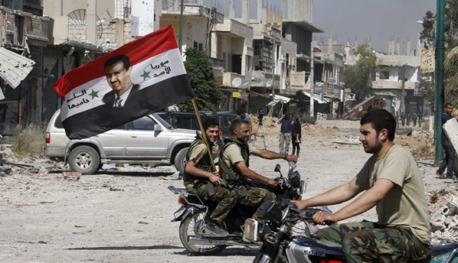 Foto: Alungarea lui al-Assad, o prioritate pentru SUA