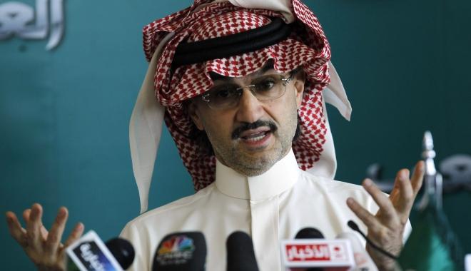 Foto: Cel mai bogat șeic din Arabia Saudită a fost aruncat în închisoare