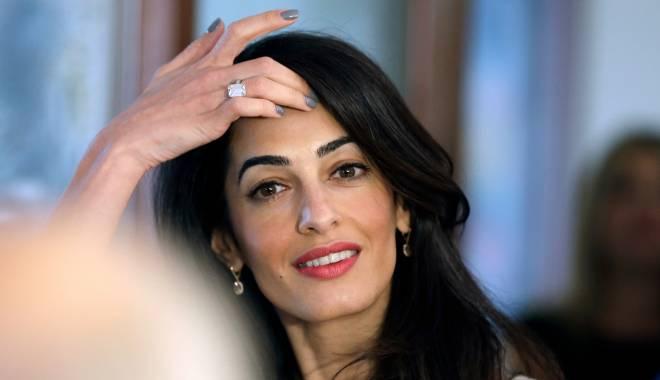 Foto: George Clooney şi cea mai fascinantă femeie din lume