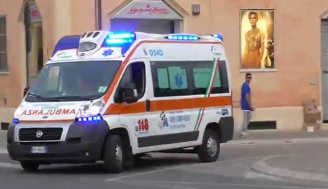 Foto: Tânăr român, transportat în stare de inconștiență la spitalul din Palermo după ce a vrut să se sinucidă
