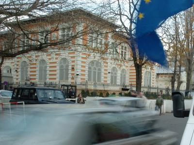 Foto: Pericol de explozie lângă ambasada SUA