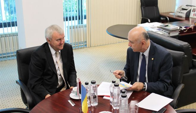 Foto: Ambasadorul Republicii Belarus, în vizită la CCINA