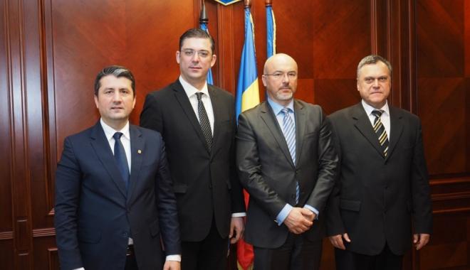 Foto: Ambasadorul Poloniei  în România,  vizită la Constanţa