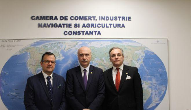 Foto: Ambasadorul Republicii Macedonia, în vizită la CCINA Constanța
