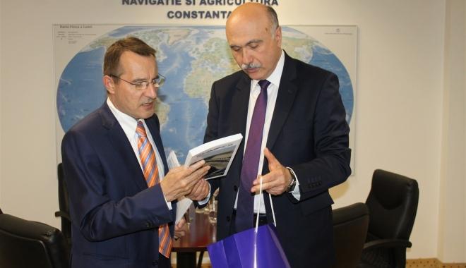 Foto: Ambasadorul Republicii Cipru, în vizită la CCINA