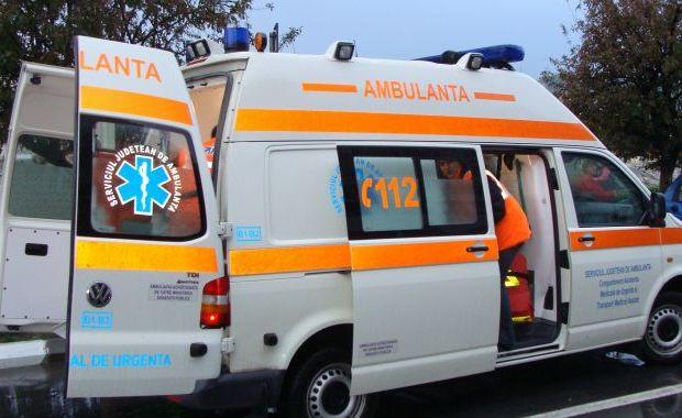 Foto: Poliţist urmărit la ieşirea dintr-un club şi înjunghiat, în faţa spitalului