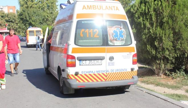 Foto: ACCIDENT RUTIER LA CONSTANŢA, în zona Cireşica