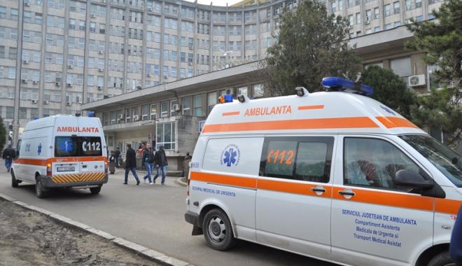 Foto: Şoferul unei ambulanţe, depistat beat la volan de poliţiştii constănţeni