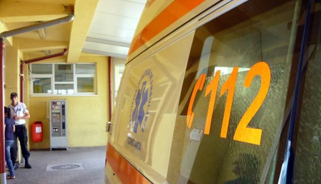 Foto: Copil lovit de maşină, în Constanţa