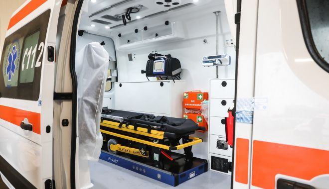 Foto: Inspectoratul pentru Situații de Urgență achiziționează ambulanțe pentru nou-născuți