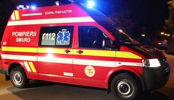 Foto: GALERIE FOTO / Mercedes spulberat de un TIR, la Constanța. Șoferul nu a avut nicio șansă