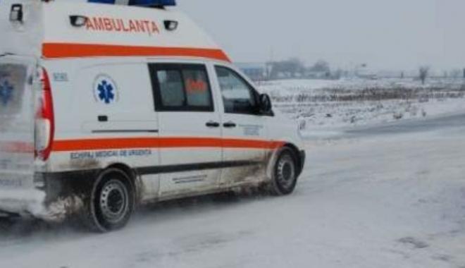 Foto: TRAGEDIE / O femeie a decedat, până la sosirea ambulanţei