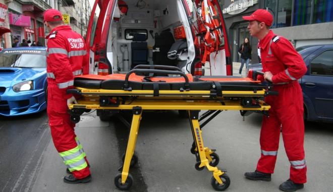 Foto: Accident rutier pe bulevardul Aurel Vlaicu