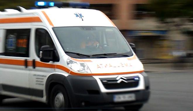 Foto: O persoană încarcerată, la Constanţa, în urma unui accident rutier