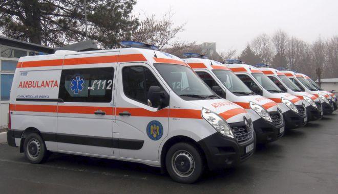Foto: Serviciul de Ambulanță Tulcea şi-a îmbogăţit parcul auto