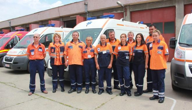 Foto: Şase ambulanţe noi pentru judeţul Constanţa