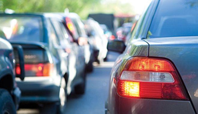 Foto: ŞOFERI, ATENŢIE! Trafic restricţionat în localitatea 23 August, pe drumul Constanţa – Mangalia
