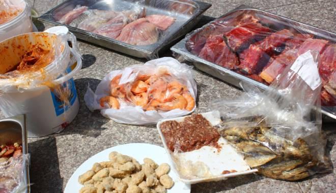 Foto: JALE LA CONSTANŢA! DSV a distrus mii de kilograme de produse alimentare